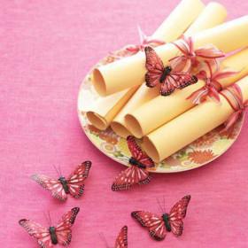 Thème de mariage : les papillons