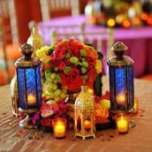 Thème de mariage oriental/1001nuits/bollywood