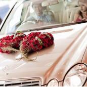 Des idées pour la décoration de voiture de mariage