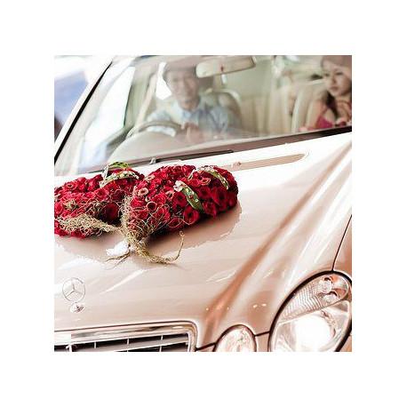 Idee decoration voiture mariage d couvrir - Porte bonheur pour voiture ...