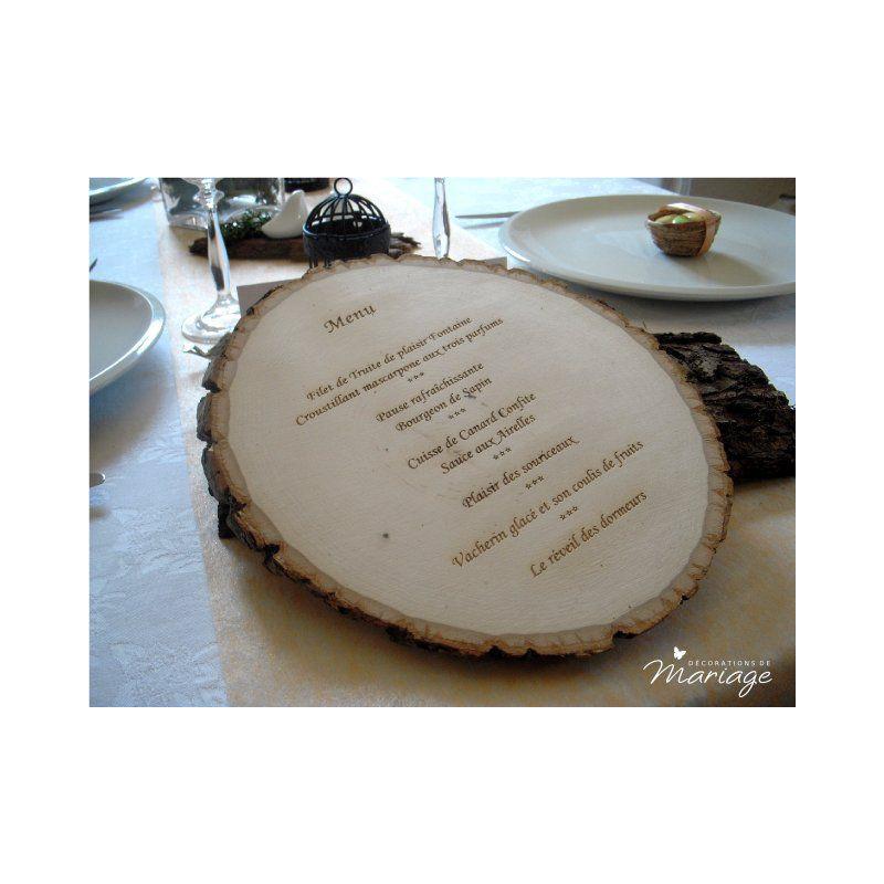 Mariage oiseaux decoration table - Deco table mariage nature ...