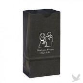 Le sac en papier personnalisé mariage (par 25)
