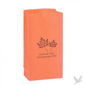 Le sac en papier personnalisé automne (par 25)