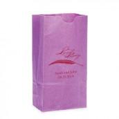 Les 25 sacs en papier personnalisé love story