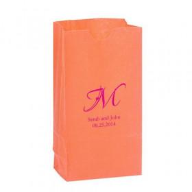 Le sac en papier personnalisé initiale (par 25)