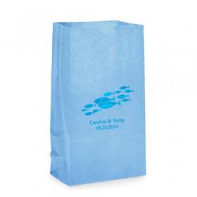 Le sac en papier personnalisé poisson (par 25)