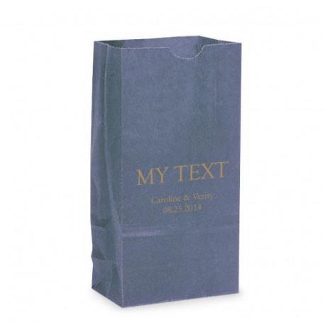 Les 25 sacs en papier texte personnalisé