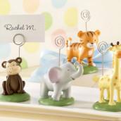Les 4 marque-places bébés animaux