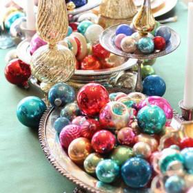 Idées pour la décoration de table de Noel