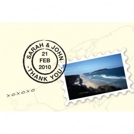 La carte postale personnalisée