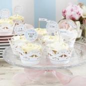 Les 10 socles à cupcake oiseaux