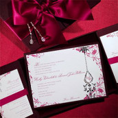 Décoration mariage baroque : le faire part