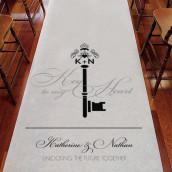 Le tapis d'église personnalisé clé