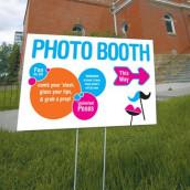 La pancarte photo booth personnalisée