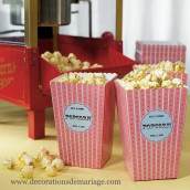 Le carton à pop corn