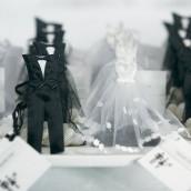 Le pochon à dragées marié