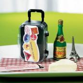 La boite à dragées valise à roulette (x 6)