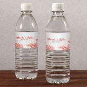 Les 10 étiquettes à bouteille d'eau récif corail