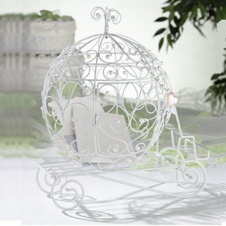urne mariage carrosse decoration royale. Black Bedroom Furniture Sets. Home Design Ideas