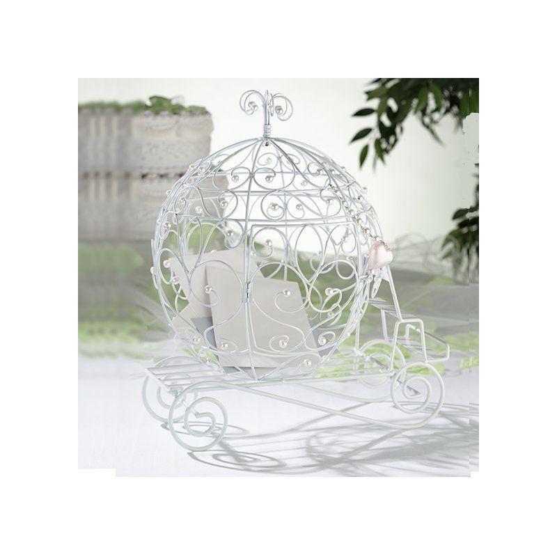 Urne mariage carrosse decoration royale for Decoration urne de mariage