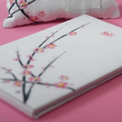 Le livre d'or fleur de cerisier