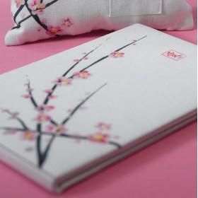 Le livre d'or mariage fleur de cerisier