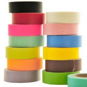 Le rouleau de washi tape (25 coloris)