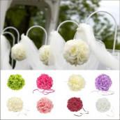 La boule de fleurs artificielles (7 coloris)