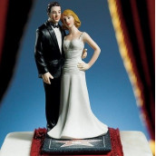 La figurine de mariage hollywood glamour