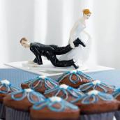 La figurine de mariage comique