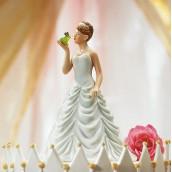 La figurine de mariage princesse pour pièce montée