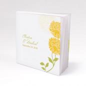 Les 12 blocs note personnalisés zinnia