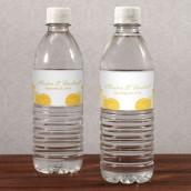 Les 10 étiquettes à bouteille d'eau zinnia