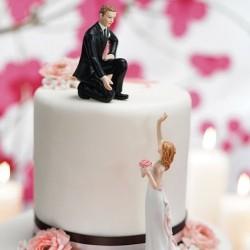 La figurine de mariage entraide