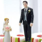 La figurine de mariage prince crapaud thème féerique