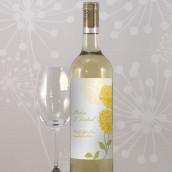 Les 8 étiquettes à bouteille de vin zinnia