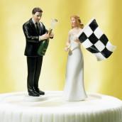 La figurine de mariage formule 1