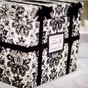 Décoration mariage baroque : l'urne de mariage