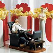 Le figurine marié accro de la télélé