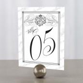 Les 12 numéros de table sceau royal