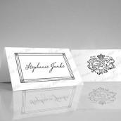 Les 6 cartons chevalets sceau royal