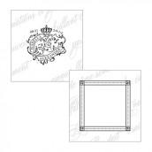 Les 20 cartes personnalisées sceau royal