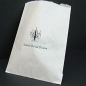 Le sac en papier personnalisé plat