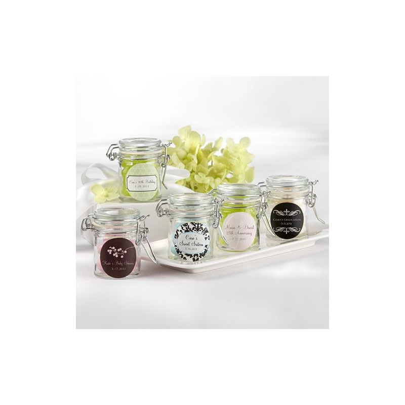 mini pot en verre dragees decoration mariage. Black Bedroom Furniture Sets. Home Design Ideas
