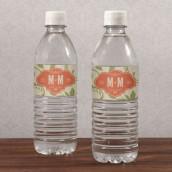 Les 10 étiquettes à bouteille d'eau vignoble