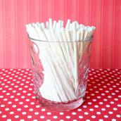 Les 50 bâtonnets en papier pour sucette