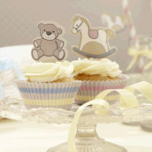Le kit cupcake ourson et cheval