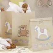 Les 5 sacs en papier ourson et cheval