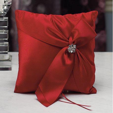 coussin alliances monroe rouge. Black Bedroom Furniture Sets. Home Design Ideas