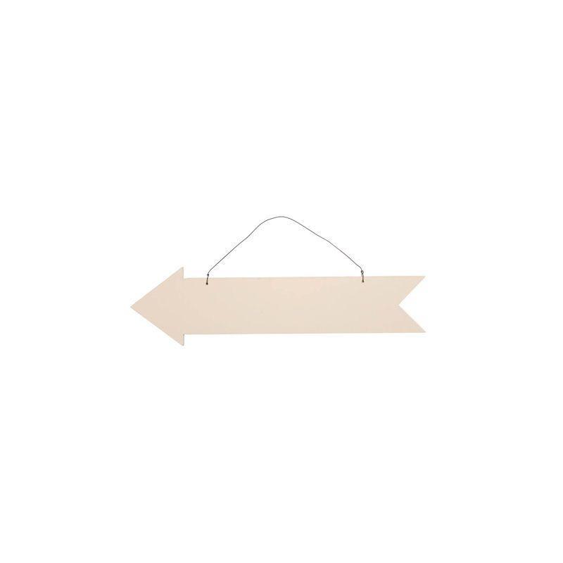 pancarte fl che en bois directionnelle. Black Bedroom Furniture Sets. Home Design Ideas